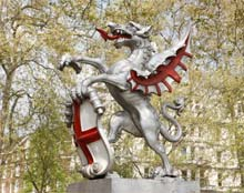 Image of dragon statue