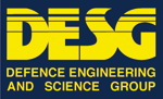 Logo: MOD - Defence Engineering and Science Group